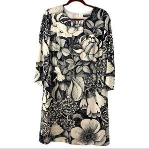 Marimekko Floral Shift Dress with Pockets